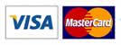 Visa Logo and MasterCard Logo